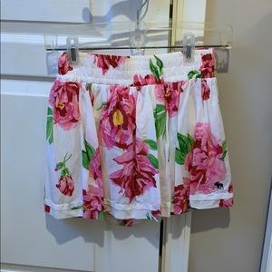 Floral Abercrombie skirt